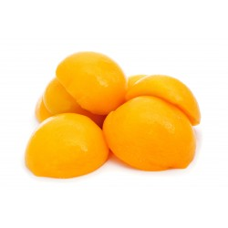 Peach Halves in Light Syrup 14/16º brix 850 ml Easy Open 1.036.800 Cans (48 fcls)